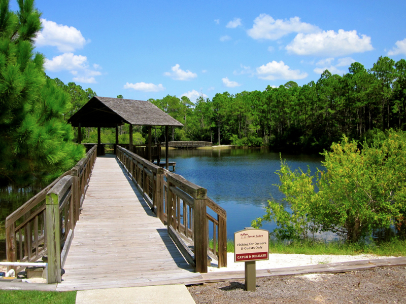 Dock In Blue Mountain Beach Fl