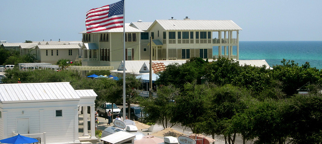 pedestrian-friendly community of Seaside, Florida